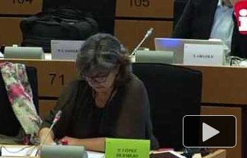 """IU: López, sobre los recortes de la UE: """"No hay democracia sin servicios públicos y derechos sociales"""""""