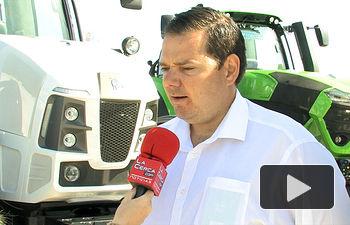Eliseo Merenciano, responsable del departamento de Ventas de AGROTRAC.