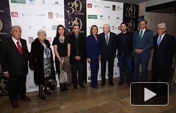 Cospedal asiste al aniversario del diario La Tribuna de Albacete 1. Foto: JCCM.