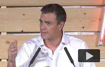 PSOE: Acto de Pedro Sánchez en Barcelona
