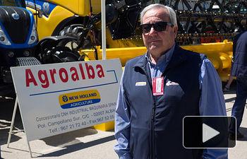 Honorato León, gerente de Agroalba