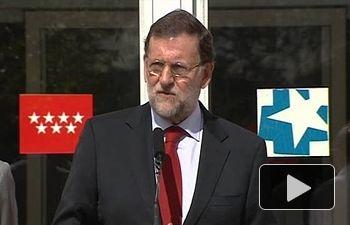 Rajoy acude al hospital Carlos III para interesarse por la salud de Teresa Romero