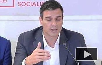 PSOE: Pedro Sánchez interviene en la Asamblea de Madrid para anunciar medidas anticorrupción