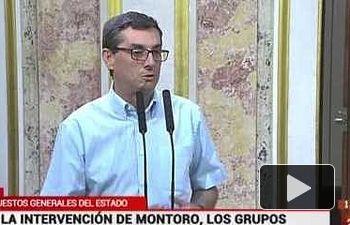 """IU denuncia el acto """"electoral"""" de Montoro al defender los Presupuestos"""