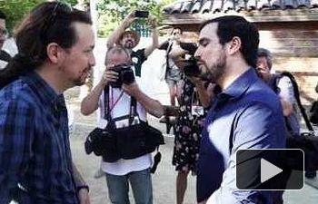 IU: #GarzónOnTheRoad 09 - Abrazos a la valenciana