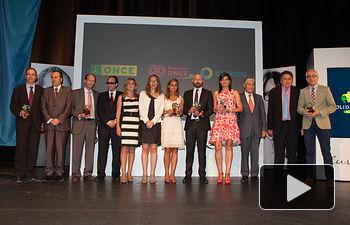 Premiados en la VII Edición de los Premios Solidarios ONCE.