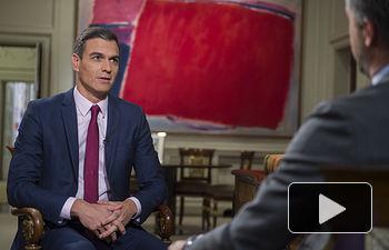 Pedro Sánchez - Entrevista TVE - 18-02-19 - Imagen La Moncloa