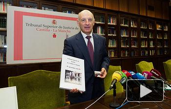 Vicente Rouco, presidente del Tribunal Superior de Justicia de Castilla-La Mancha. Foto: Manuel Lozano Garcia / La Cerca