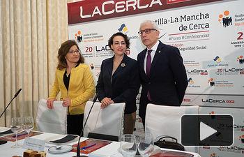 VIII Fórum Castilla-La Mancha de Cerca - Con la intervención de Magdalena Valerio, Ministra de Trabajo, Migraciones y Seguridad Social