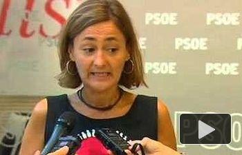 PSOE: Luz Rodríguez valora los datos del paro