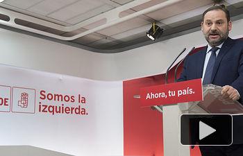 El secretario de organización del PSOE José Luis Ábalos.