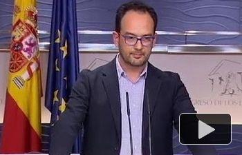 Hernando:  Iglesias y Rajoy han estado buscando las elecciones desde el primer día