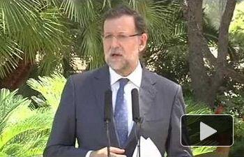 El presidente del Gobierno mantiene el despacho con el Rey Felipe VI en el Palacio de Marivent