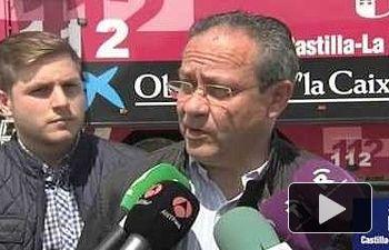 JCCM: Rueda de prensa sobre la situación del incendio de Seseña