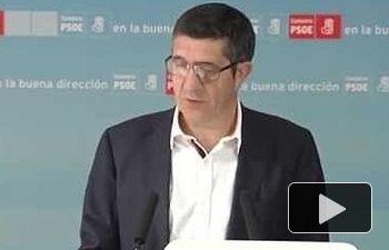 PSOE: Artur Mas quiere romper en dos a la sociedad catalana.