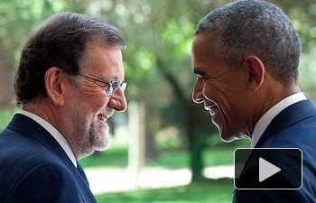 Rajoy y Obama destacan las buenas relaciones existentes entre España y Estados Unidos