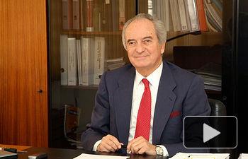 Agustín de Grandes, presidente de CEOE-CEPYME Guadalajara.