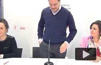 PSOE: César Luena interviene en la reunión de la Interparlamentaria de la Rioja