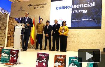 Día de Cuenca en Fitur 2019.