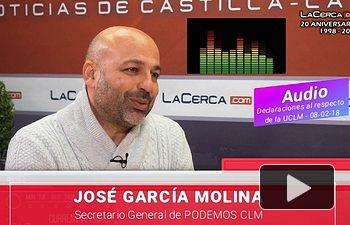 José García Molina - Pantalla - 08-02-18