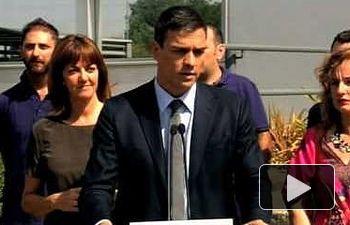 Pedro Sánchez: necesitamos líderes que crean en la fuerza de la unión de nuestro país