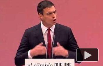 PSOE: Vamos a liderar un cambio seguro, que una a todos los españoles y españolas