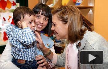 Cospedal visita la Escuela Infantil Municipal Los Cotos. Foto: JCCM.