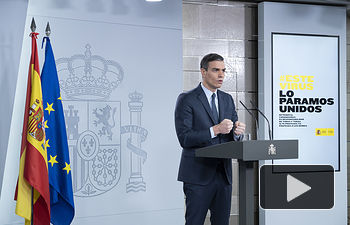 Pedro Sánchez, presidente del Gobierno. Foto: Moncloa. Foto: fotobpb