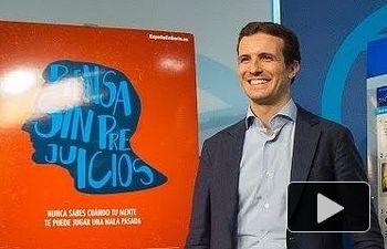PP: Pablo Casado presenta la campaña online para las elecciones generales del #20D