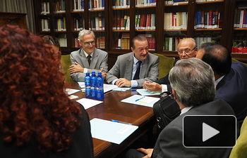 Bartolomé García, fiscal de sala de la Unidad Especializadad en Seguridad Vial de la Fiscalía General del Estado. Foto: Manuel Lozano Garcia / La Cerca
