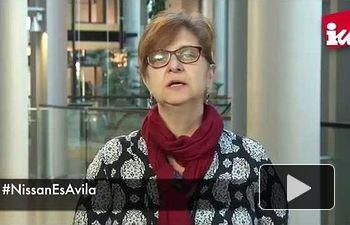 IU: Paloma López muestra su solidaridad y apoyo a la plantilla de Nissan en Ávila #NissanEsAvila
