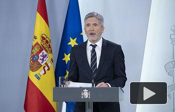 Fernando Grande-Marlaska, ministro del Interior .Pool Moncloa/Borja Puig de la Bellacasa.