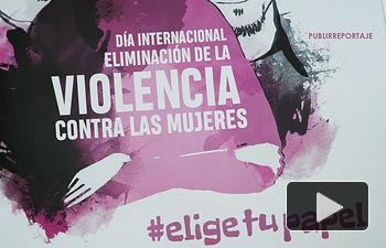 Cartel #EligeTuPapel - Día Internacional Eliminación de la Violencia Contra las Mujeres