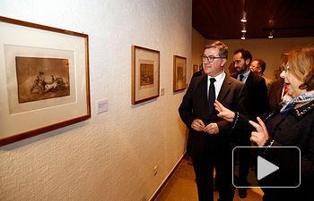 Marín Exposición Goya Barjola Tauromaquias 1. Foto: JCCM.