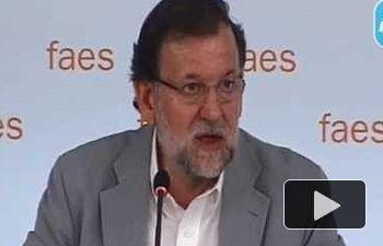 Intervención de Mariano Rajoy en la clausura del Campus FAES 2015