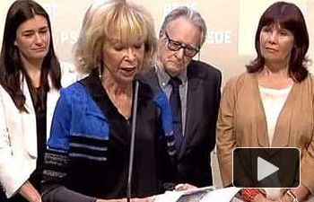 El PSOE homenajea a Elena Armedo en Ferraz
