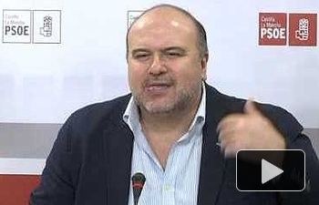 """PSOE: """"Lo que no puede ser es que haya llovido cuatro gotas..."""""""