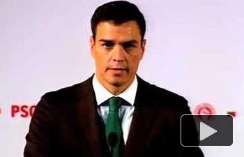 PSOE: Los españoles solo esperan el cambio de Rajoy como presidente del Gobierno