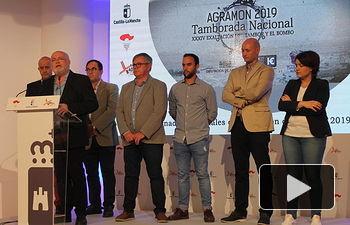 XXXIV Jornadas Nacionales de Exaltación del Tambor y el Bombo, en el stand de la Junta de Comunidades en la Feria de Albacete