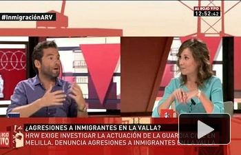 IU: Marina Albiol participa en `Al Rojo Vivo` (La Sexta 19.08.2014)