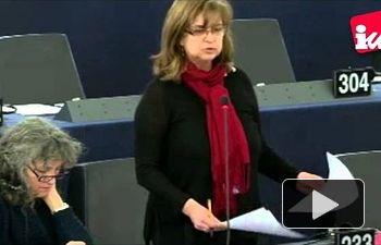 """IU: Paloma López a Renzi: """"Continúan desmantelado el patrimonio social que tejía la identidad europea"""""""