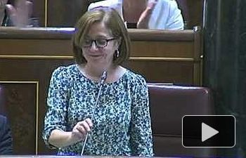 Ana Castaño, nueva diputada de IU en el Congreso, en sustitución de Gaspar Llamazares