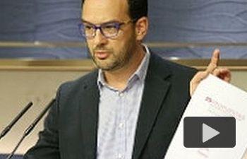 PSOE: Antonio Hernando - El tiempo de las ofertas se acabó