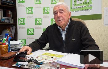 José María Roncero, presidente de la Unión de Consumidores de España -UCE- en Albacete