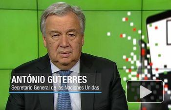António Guterres - Secretario General ONU -  Día Mundial Libertad Prensa - 03 05 19