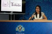 Ana Isabel Fernández, concejal de Turismo y Artesanía en el Ayuntamiento de Toledo. Foto de Archivo.