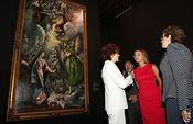 Cospedal anima a visitar la exposición 'El Greco, Arte y Oficio', una muestra clave para terminar de conocer al pintor.