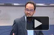 PSOE: Rueda de prensa Antonio Hernando
