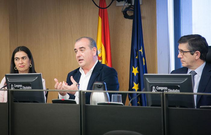 Luciano Poyato, presidente de la PTS.