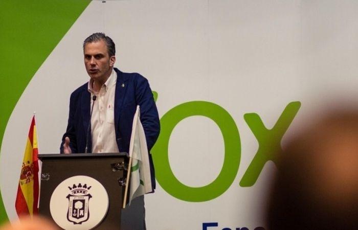Javier Ortega Smith, secretario general de VOX. Foto: VOX. (Archivo).